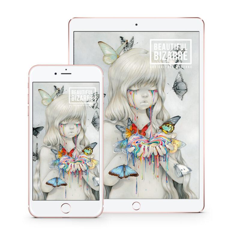 Beautiful Bizarre Magazine - Issue 31 Digital with Camilla d'Errico pop surrealism painting